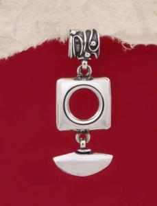 Сребърен медальон HP19