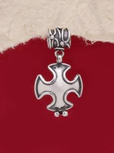 Сребърен медальон HP29