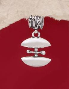 Сребърен медальон HP31