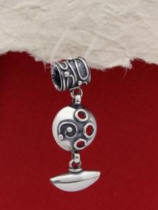 Сребърен медальон HP36