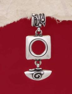 Сребърен медальон HP40