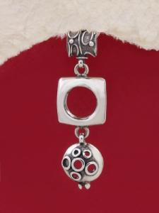 Сребърен медальон HP42