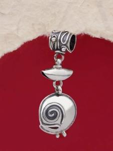 Сребърен медальон HP43