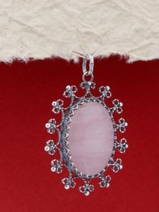 Сребърен медальон FPK86