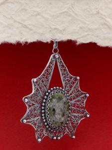 Сребърен медальон FPK128
