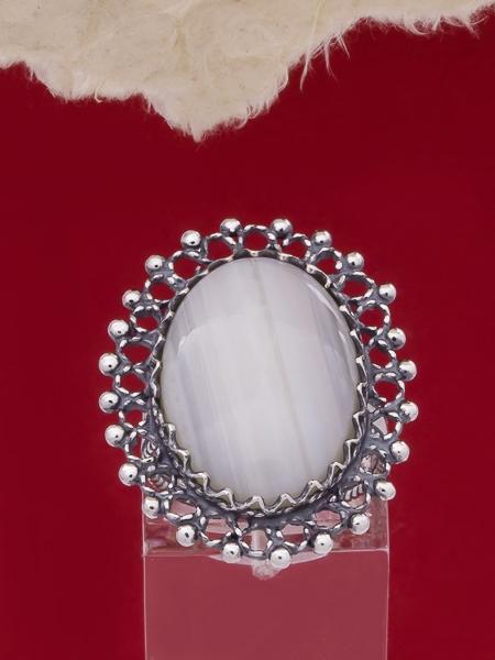 Сребърен пръстен FRK74
