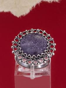 Сребърен пръстен FRK73 - Лапидолит