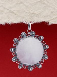 Сребърен медальон FPK96