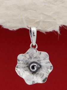 Сребърен медальон SPK24