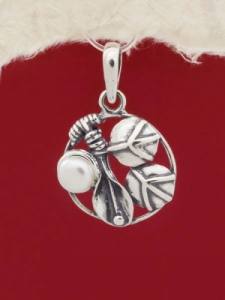 Сребърен медальон PK385