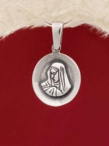 Сребърен медальон P241