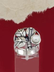 Сребърен пръстен RK385