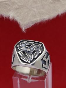 Сребърен пръстен П-11