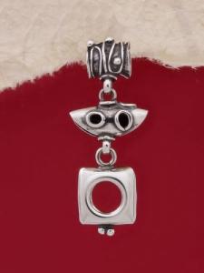 Сребърен медальон HP81