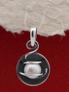 Сребърен медальон SPK29