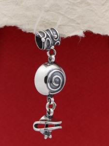 Сребърен медальон HP1