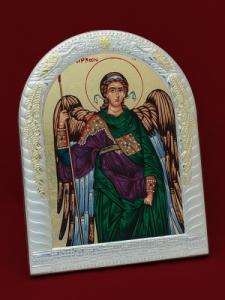 Икона от сребро Архангел Михаил - 501134