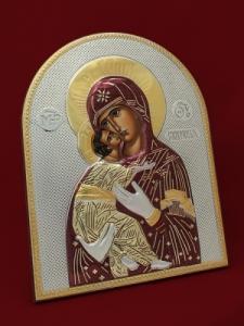 Икона от сребро Света Богородица - 501144