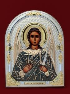Сребърна икона Свети Архангел Михаил - 501102