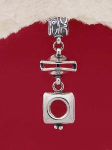Сребърен медальон HP77