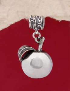 Сребърен медальон HP82