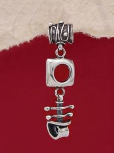 Сребърен медальон HP84