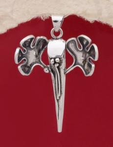 Сребърен медальон HP85