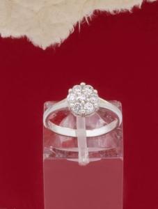 Сребърен пръстен R269