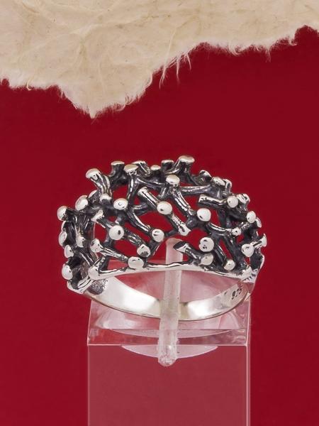 Сребърен пръстен R326