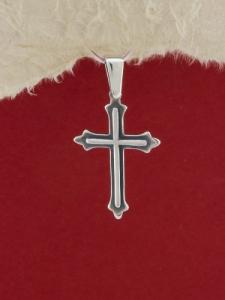 Сребърен медальон P333