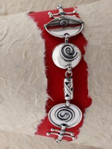 Сребърна гривна HB5