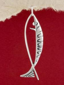 Сребърен медальон P17