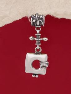 Сребърен медальон HP54