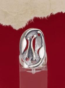 Сребърен пръстен RK221