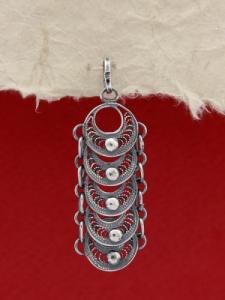 Сребърен медальон FPB67
