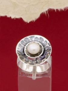 Сребърен пръстен RK256
