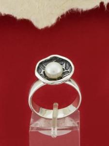 Сребърен пръстен RK272