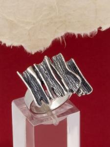 Сребърен пръстен RK254