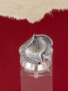 Сребърен пръстен RK258
