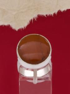 Сребърен пръстен RKWS3 - Червен яспис