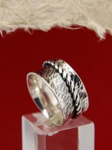 Сребърен пръстен SR5