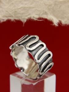 Сребърен пръстен SR19