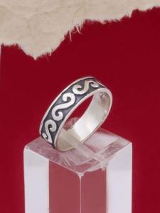 Сребърен пръстен R181