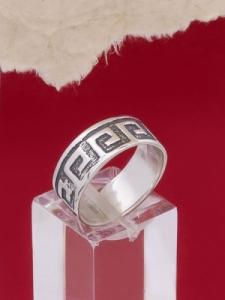 Сребърен пръстен R186