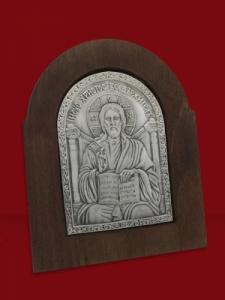 Икона от сребро Исус Христос - 501168