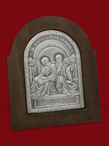 Сребърна икона Св.св. Кирил и Методий - 501172