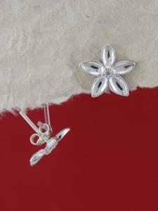 Сребърни обеци E114205