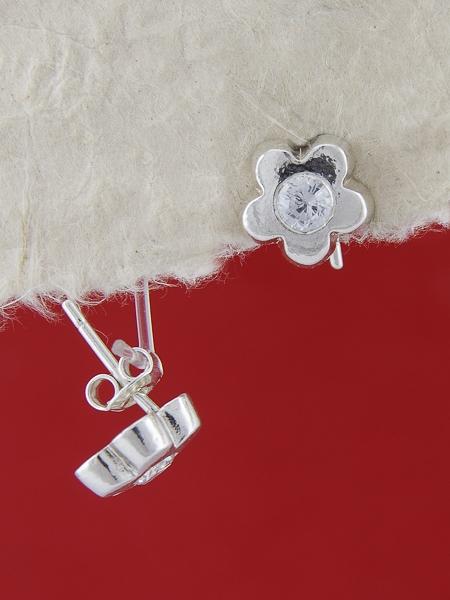 Сребърни обеци E114762