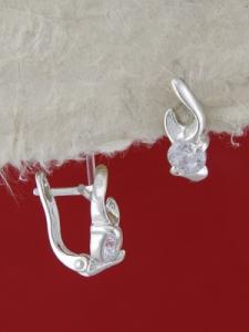 Сребърни обеци E114986