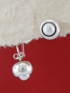 Сребърни обеци E115868